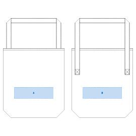 デザインスペース:A・B/ W240×H70(mm) ■シルク印刷 最大範囲:A・B/W240×H70(mm)