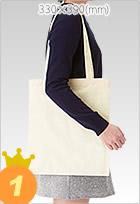 コットンナチュラルショルダートート【シルク印刷1色刷り】でオリジナルエコバッグを500枚製作