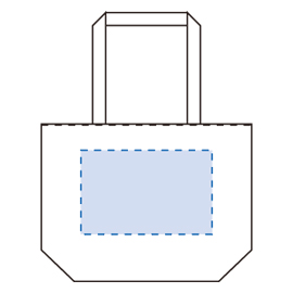 キャンバスリバーシブルバッグ
