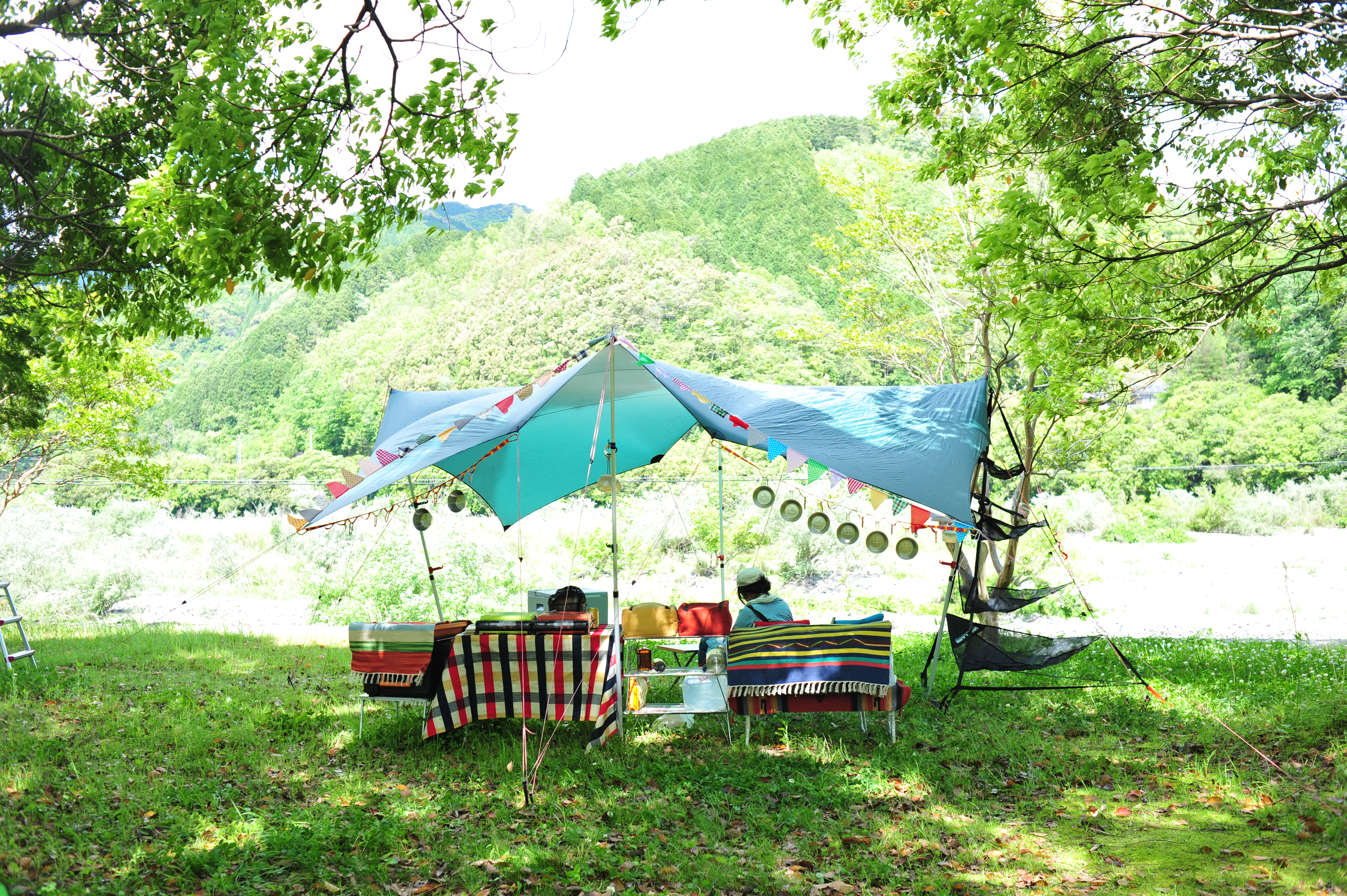 大自然キャンプ