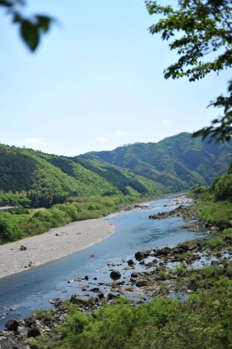 四万十川カヌーで川下り